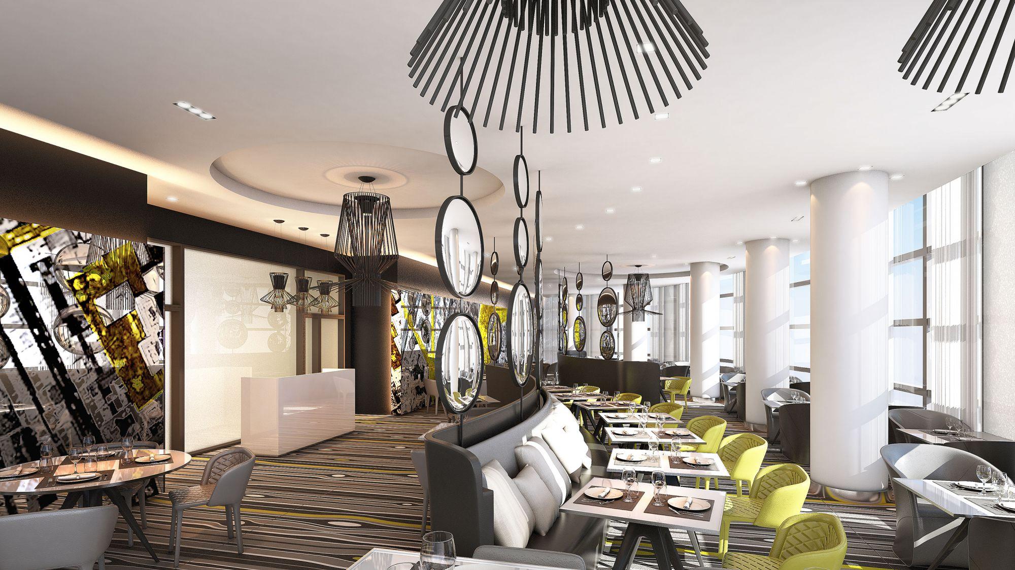 Restaurant vue 3D